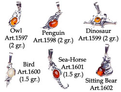 Pendents Animal Shaped Pag.1