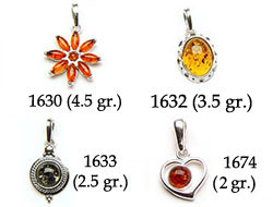 Amber & Silver Pendants Pag.06
